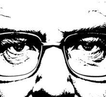 Walter White & Black (No White) Sticker