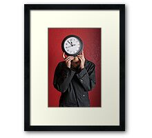 Waisted Time Framed Print