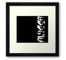 Alyssa Decayed Style Graffiti Tag Framed Print