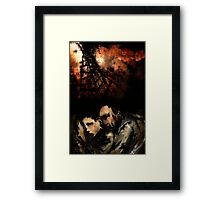 """""""There Will Be Blood"""" Movie Poster Framed Print"""