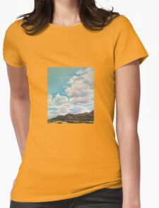Santa Fe Sky Womens Fitted T-Shirt