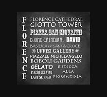 Florence Famous Landmarks Unisex T-Shirt