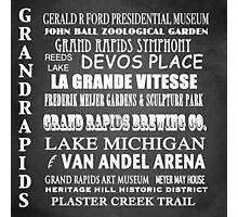 Grand Rapids Famous Landmarks Photographic Print