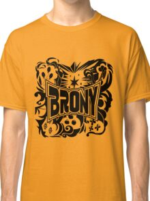 Brony Work Out Shirt Classic T-Shirt