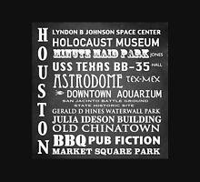 Houston Famous Landmarks Unisex T-Shirt