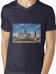 Islay: Lagavulin Mens V-Neck T-Shirt