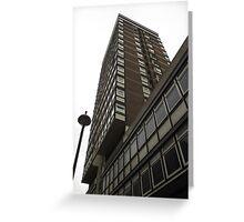 Tower block Greeting Card