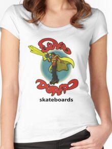 Super Duper Skateboards Women's Fitted Scoop T-Shirt