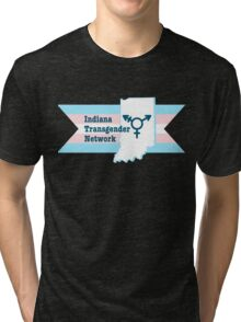 Indiana Transgender Network Tri-blend T-Shirt
