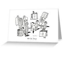 West Side Storage Greeting Card