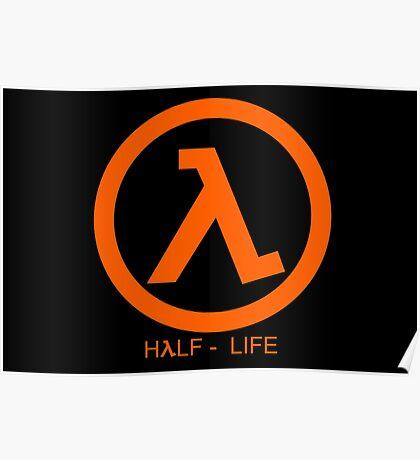 Half - Life Lambda Poster