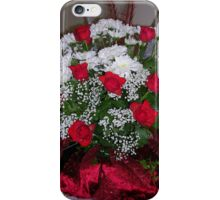 Roses For Christmas iPhone Case/Skin