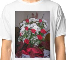 Roses For Christmas Classic T-Shirt