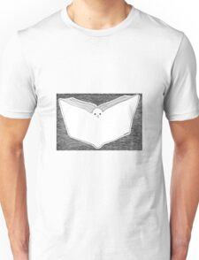 Book and Pigeon Unisex T-Shirt