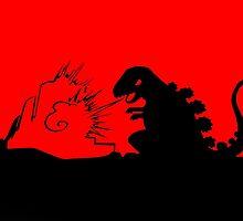 Godzilla by DrTigrou