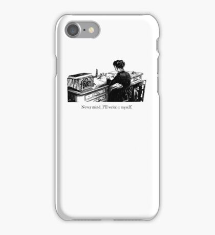 Never mind. I'll write it myself. iPhone Case/Skin