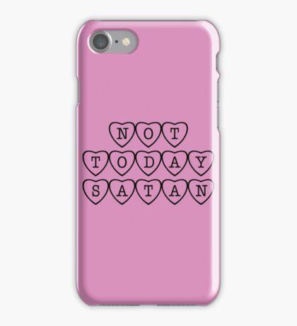 Bianca Del Rio inspired 'Not Today Satan' plain heart design iPhone Case/Skin
