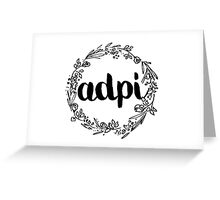 ADPI Flowers Greeting Card