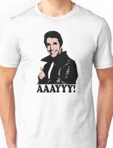 The Fonz Happy Days Aaayyy! T-Shirt Unisex T-Shirt