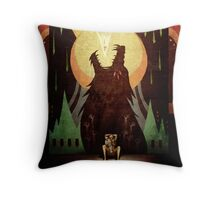 Slow Arrow Throw Pillow
