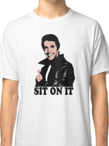 The Fonz Happy Days Sit On It T-Shirt Classic T-Shirt