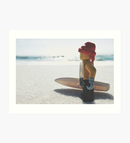 Surf's Up! Art Print