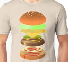 Hamburger Unisex T-Shirt