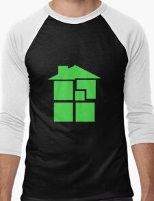 Homestuck - Sburb (Black) Men's Baseball ¾ T-Shirt