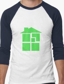 Homestuck - Sburb (Black) Men's Baseball ¾ T-Shirt