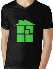 Homestuck - Sburb (Black) Mens V-Neck T-Shirt
