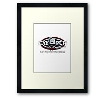 stay puft, logo, ghostbusters, movie, movie t-shirt Framed Print