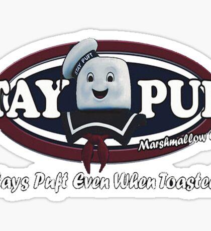 stay puft, logo, ghostbusters, movie, movie t-shirt Sticker
