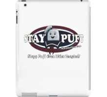 stay puft, logo, ghostbusters, movie, movie t-shirt iPad Case/Skin