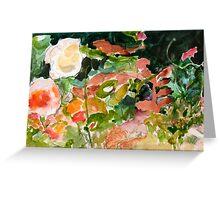 Garden Close Up Greeting Card
