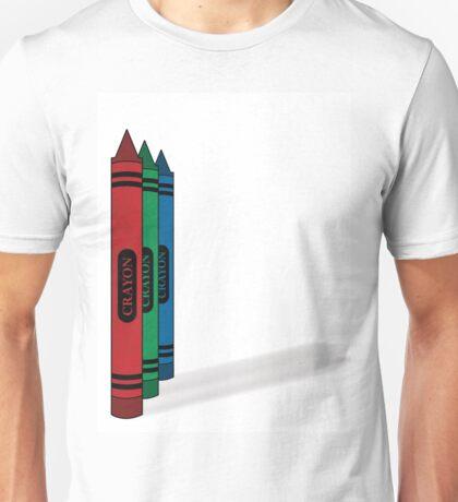 Crayons Unisex T-Shirt