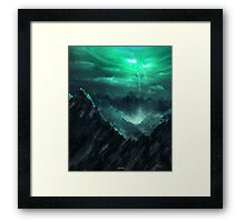 The breach Framed Print