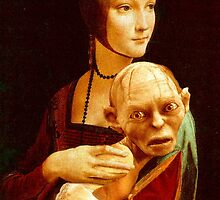 Lady with Gollum by luigitarini