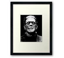 Monster Framed Print