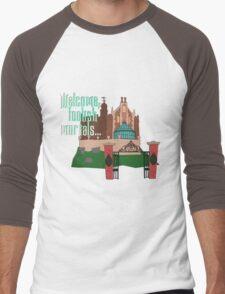 Welcome, Foolish Mortals... Men's Baseball ¾ T-Shirt