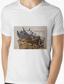 TCU Super Frog #1 Mens V-Neck T-Shirt