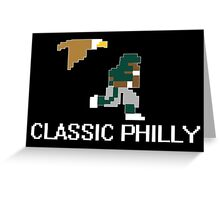 Classic Philly - 8 Bit Retro Greeting Card