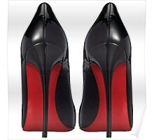 Red Sole Heels - Designer/Fashion/Trendy/Hipster Meme Poster
