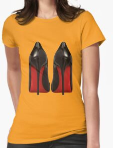 Red Sole Heels - Designer/Fashion/Trendy/Hipster Meme Womens Fitted T-Shirt