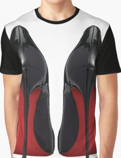 Red Sole Heels - Designer/Fashion/Trendy/Hipster Meme Graphic T-Shirt