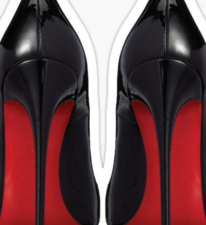 Red Sole Heels - Designer/Fashion/Trendy/Hipster Meme Sticker