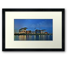 McLane Stadium at Baylor University Framed Print