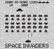 Space Invaders classic Arcade game Kids Tee