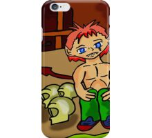 lonly demon  iPhone Case/Skin