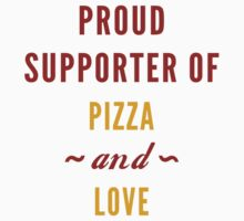 Pizza And Love by vectorgalaxy