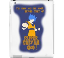 Super Saiyan God Super Saiyan Goku iPad Case/Skin